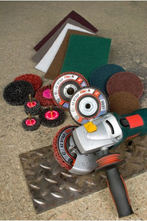 CGW Surface Conditioning Abrasives.