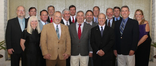 The Concrete Sawing & Drilling Association (CSDA) is pleased to announce new 2013 Board members and Officers, who were elected at the 41st Annual CSDA Convention and Tech Fair, held February 28 – March 2, 2013.  Elected to serve a two-year term as President was Judith O'Day (front left), Terra Diamond Industrial, Salt Lake City, Utah.