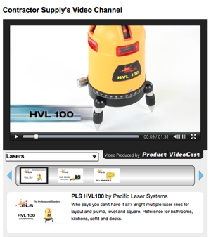 The Contractor Supply Video Channel is the industry's newest platform for construction tool and supply product knowledge videos.