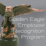 The ISA Golden Eagle Award provides a means for employers to acknowledge their dedicated men and women with 35 years or more of service to the industrial supply industry.