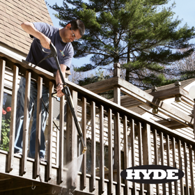 Hyde's new Pivot Nozzle Wand for pressure washers won a retailer award at the National Hardware Show.