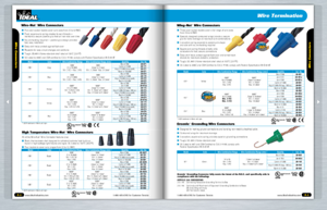 "IDEAL announces the first 3D digital ""page flip"" version of its full-line catalog is now available for viewing at www.idealindustries.com."