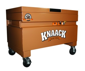 Knaack's 50th anniversary limited edition Model 50 jobsite storage chest.