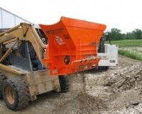 Ranner Excavating has used Multiquip's EZ Grout Hog Crusher to turn crap concrete into resellable fill.