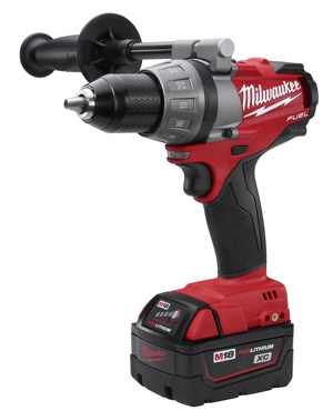 "Milwaukee's M18 FUEL ½"" Drill/Driver (2603-20/22), shown here, and M18 FUEL ½"" Hammer Drill/Driver (2604-20/22) are strong indicators of things to yet to come."