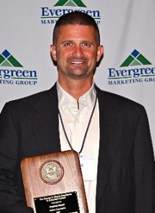 Relton Corporation's Patrick Kearl has won the Evergreen Marketing  Group's George A. Sheatz Excellence in Education Award five times.
