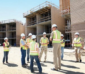 Officials say more than $1 billion in projects — including new housing, administrative buildings and infrastructure — are under way and employing about 10,000 people in construction at Camp Pendleton.