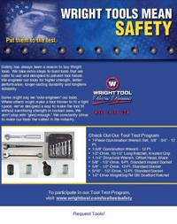 Wright Tool introduces its new tool test program that challenges contractors to test selected Wright tools for 30 days.