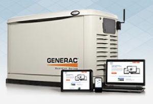 Updated for 2013, Generac's Guardian Series 20-kw home standby generators (models 006244-0 and 006250-0 ) now feature the Evolution controller, which offers advanced user interactivity and notification functions.