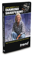 "Trend Routing Technology has introduced a new instructional DVD entitled, ""James Barry's Guide to Diamond Sharpening."""
