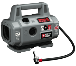 The Porter-Cable 18 Volt High-Pressure/High-Volume Inflator – PCC583B