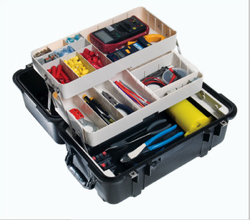 To offer a legendarily tough, portable tool protection solution, Pelican Products has introduced the 1460TOOL – Mobile Tool Chest.