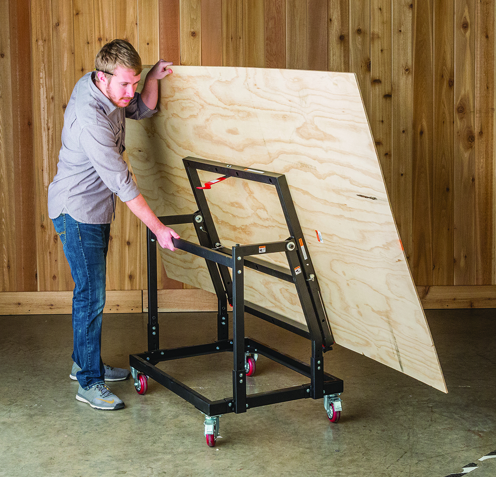 Rockler Material Mate Panel Carrier And Shop Stand