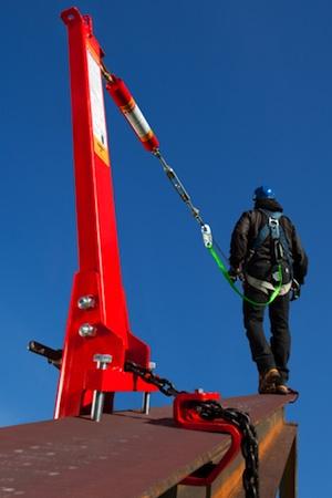 Safety Spiderline Temporary Horizontal Lifeline System