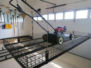 Material Handling Unique Lift Garage Storage System