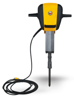 Wacker Neuson's new EH 65/120 electric breaker exceeds the leading competitor's electric breaker in power to weight ratio and percussion rate.