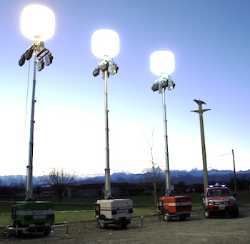 Cables Lights Airstar Sirocco And Flex Lighting Balloons