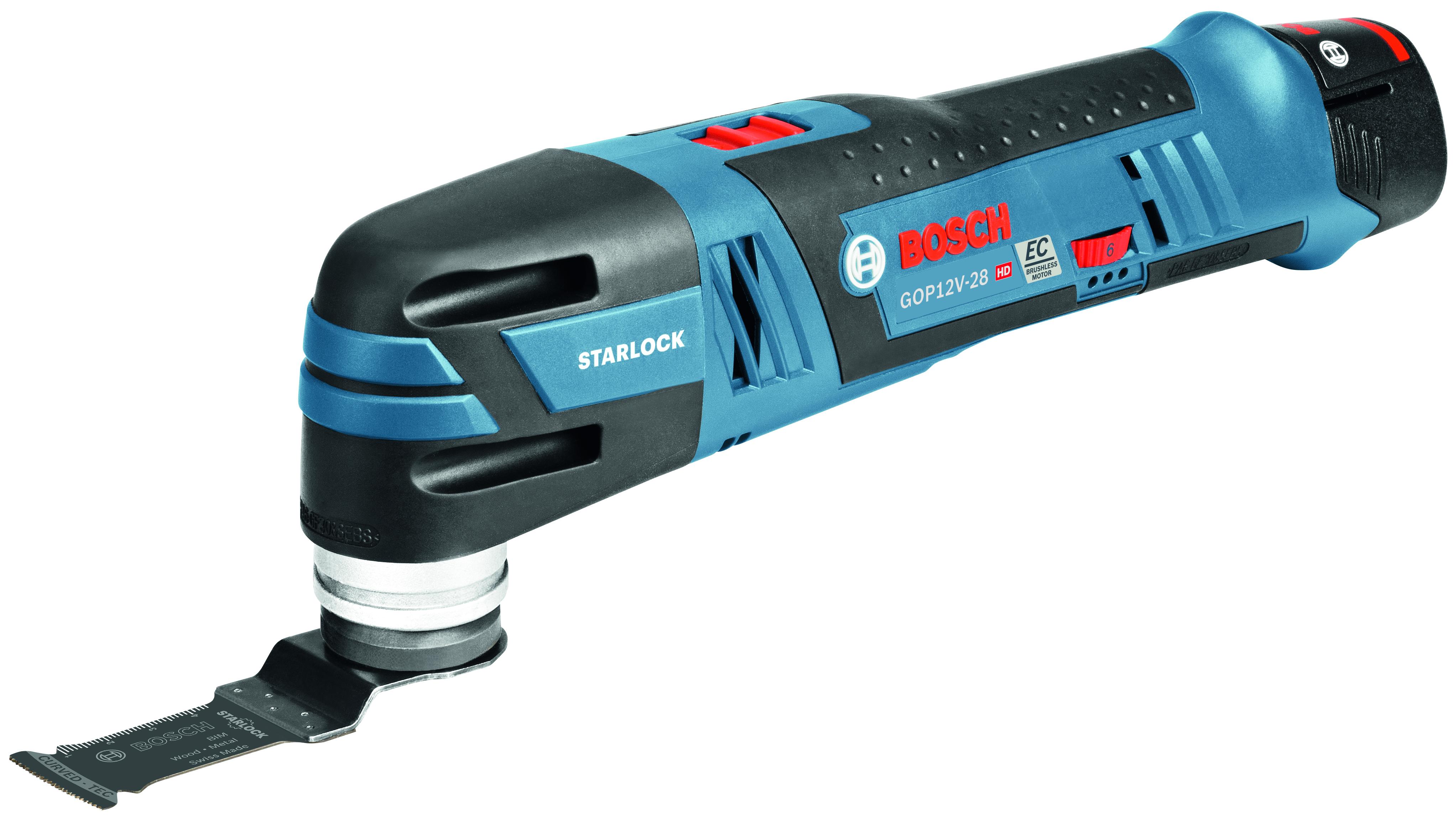 Bosch 12v Max Brushless Starlock Oscillating Multi Tool