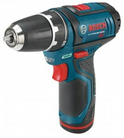 The Bosch PS31 2-speed ultra-compact drill driver has 265 inch-pounds of torque but weighs just 2.1 pounds.