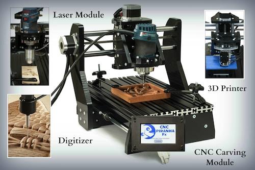 Stationary Tools Next Wave Automation Cnc Piranha Fx 3d