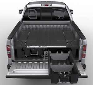 Tool Boxes Decked Pickup Truck Storage System