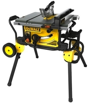 Stationary Tools Dewalt Dwe7499gd 10 Inch Jobsite Table Saw With Guard Detect Contractor