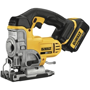For jigsaw fans, the new DeWalt DCCS 331 20 Volt MAX Cordless Jigsaw offers improved runtime, ergonomics and comfort.