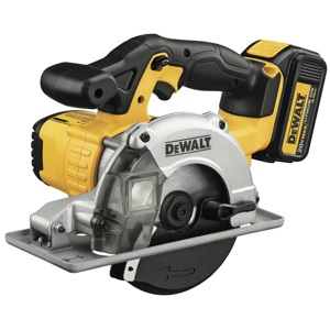 Another innovative cutting solution from DeWalt is its new 20 Volt MAX Lithium Ion Metal Cutting Circular Saw, model DCS373L2.