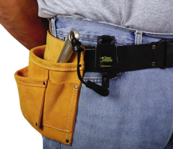 The Gear Keeper belt tether