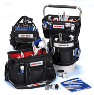 Lenox introduces four new Soft Storage Tool Bags for professional contractors.