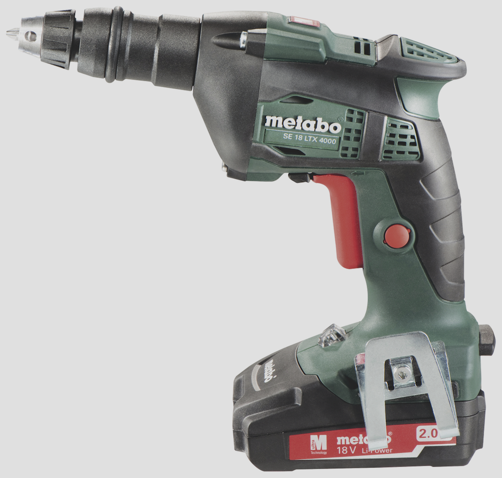 metabo se 18 ltx 18v cordless drywall screw guns contractor supply magazine. Black Bedroom Furniture Sets. Home Design Ideas
