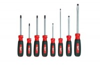 The new 8-Piece Milwaukee Screwdriver set features patented ECX bits.