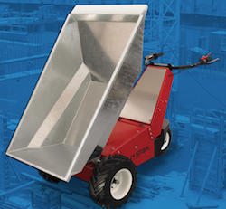 Material Handling: Power Pusher E-750 Electric Wheelbarrow ...