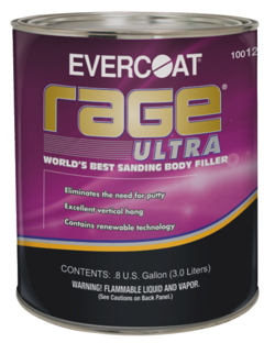 ITW Evercoat is pleased to introduce the next generation of its Rage product line, Rage Ultra.