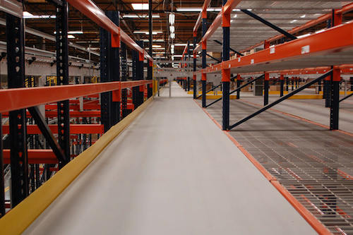 Cornerstone resindek mezzanine panels contractor supply for Mezzanine guard rail