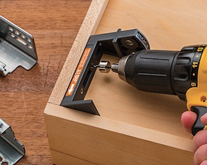 Rockler Woodworking And Hardware Has Introduced An Installation Solution  For Blum Tandem Undermount Drawer Slides U2013 The JIG IT Undermount Drilling  Guide.