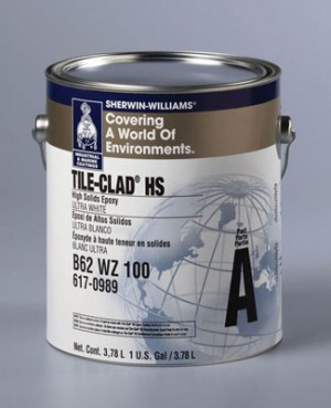 Adhesives Sealants Sherwin Williams Tile Clad Hs Epoxy