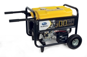 Subaru's new line of SGX Generators offers high quality features, durable construction and technologically-advanced Subaru EX overhead cam (OHC) engines, making them reliable, rugged and powerful.