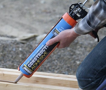 Adhesives Sealants Titebond Fast Set Polyurethane Construction Adhesive Contractor Supply
