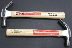 TASK Tools Bamboo hammers use FCS certified bamboo handles for exceptional strength and environmental advantages.