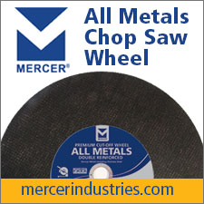 Mercer All Metals Chop Saw Wheel