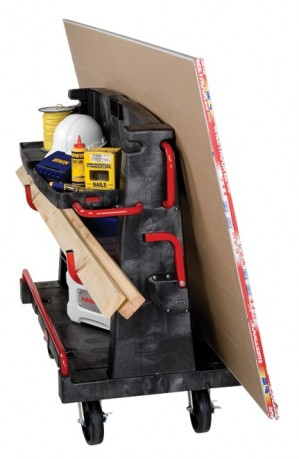 The Rubbermaid 4465 material handling cart carries everything you need.