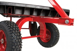 Rubbermaid's 5th-wheel truck is a versatile player in the shop and on the job site.